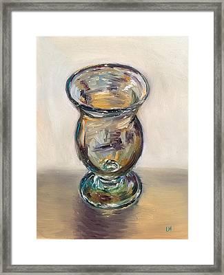 Glass Goblet Framed Print