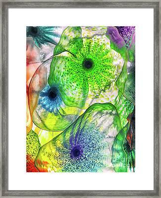 Glass Harmony Framed Print by Kasia Bitner