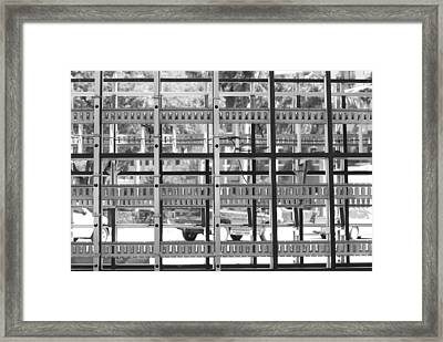 Glass Holders Framed Print by Rob Hans