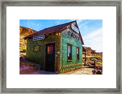 Glass House Framed Print by Garry Gay