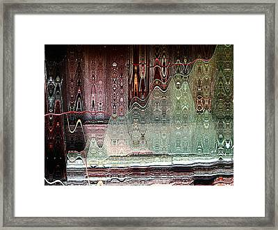 Glass House Framed Print by Shirley Sirois