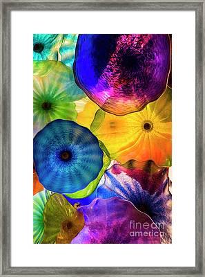 Glass Imagination Framed Print by Kasia Bitner