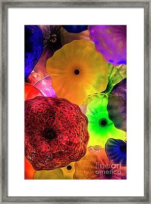 Glass Impulse Framed Print by Mariola Bitner