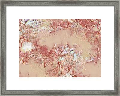 Glass In The Sand Framed Print