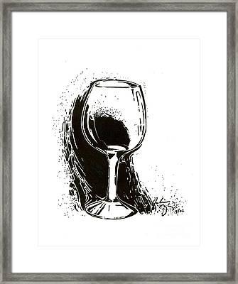 Glass Framed Print by Julianna Ziegler