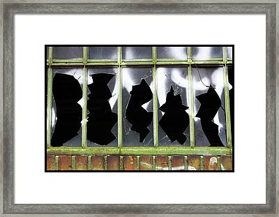 Glass Framed Print by Mark Ashkenazi
