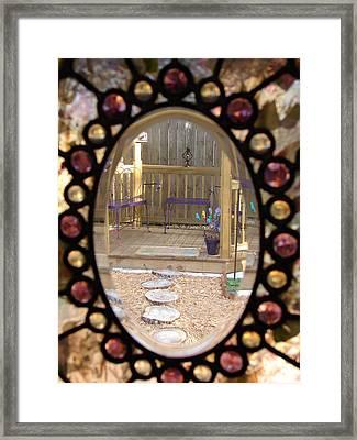 Glass Menagerie Framed Print by Priscilla Richardson