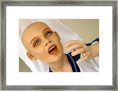 Glass Of Water Please Framed Print by Jez C Self