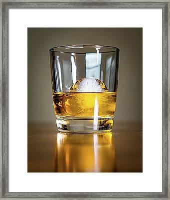 Glass Of Whisky Framed Print
