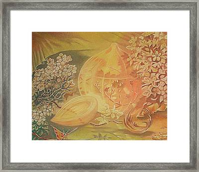 Glass Onion Framed Print