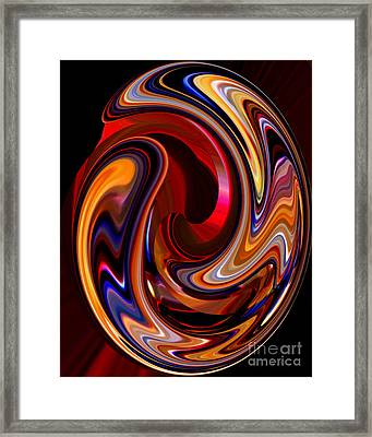 Glass Ornament 2 Framed Print by Terril Heilman