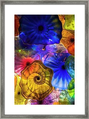 Glass Romance Framed Print by Kasia Bitner