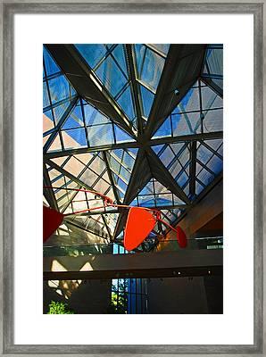 Glass Roof, Nga Framed Print