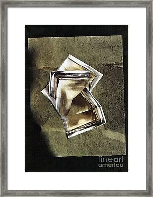 Glass Sculpture Framed Print