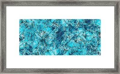 Glass Sea Framed Print