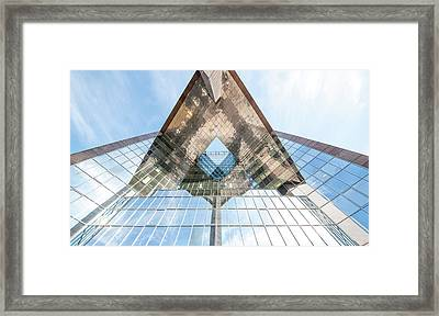 Glass Structure Framed Print