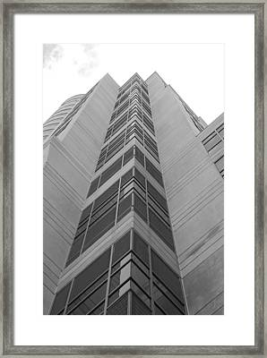 Framed Print featuring the photograph Glass Tower by Rob Hans