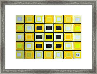 Glass Wall Framed Print
