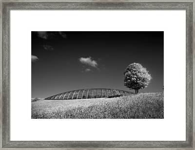 Glasshouse At The National Botanic Gardens, Wales Framed Print