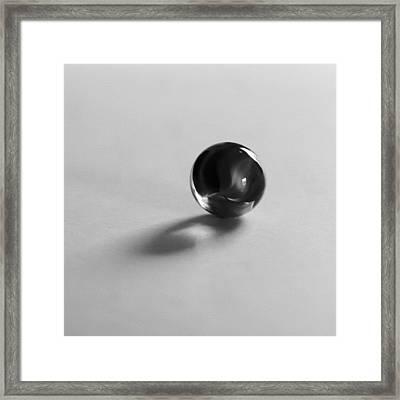 Glassie Framed Print by Tom Druin