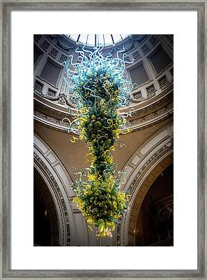 Glasswork, Victoria And Albert Museum, London, England, 2016 Framed Print