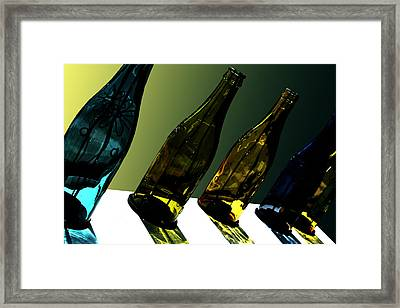 Glassworks Framed Print by Barbara  White