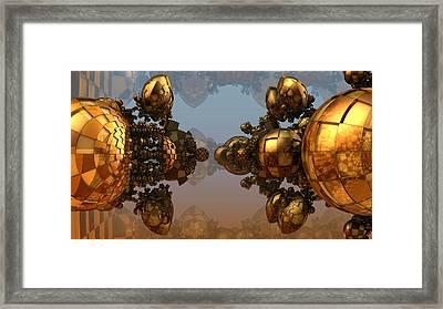 Glassy Balls Framed Print