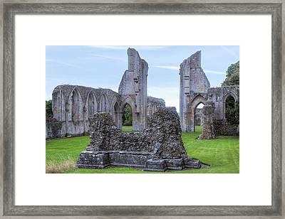 Glastonbury Abbey - England Framed Print