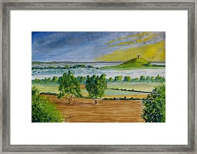 Glastonbury Tor Somerset Framed Print by Tony Williams