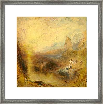Glaucus And Scylla  Framed Print by Joseph Mallord William Turner