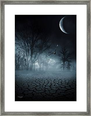 Glaucus Framed Print by Lourry Legarde