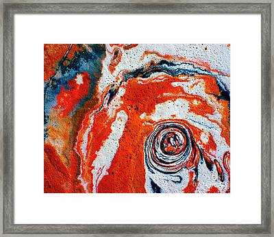 Glaze - 263 Framed Print