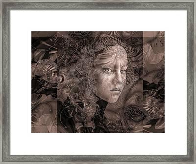 Glaze Framed Print