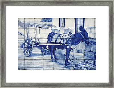Glazed Tiles Framed Print by Gaspar Avila