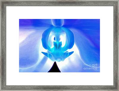 Gleaming With Hope Framed Print by Krissy Katsimbras