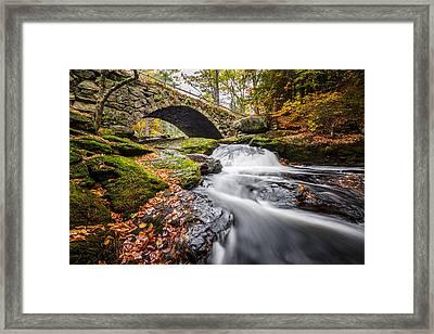 Gleason Falls Framed Print