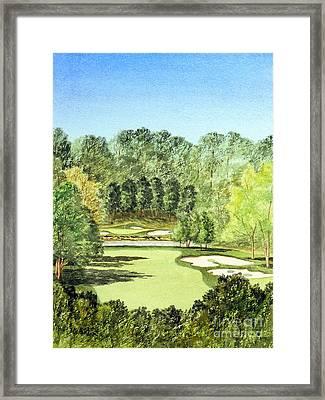 Glen Abbey Golf Course Canada 11th Hole Framed Print