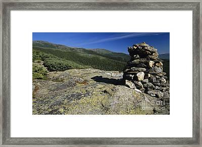 Glen Boulder Trail - White Mountains New Hampshire Usa Framed Print by Erin Paul Donovan