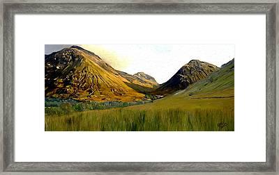 Glen Coe Framed Print by James Shepherd