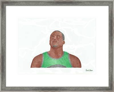 Glen David Framed Print by Toni Jaso