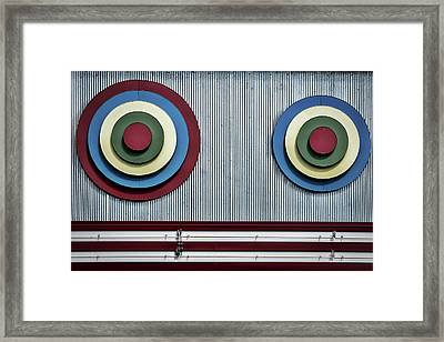Framed Print featuring the photograph Glen Echo Abstract by Stuart Litoff