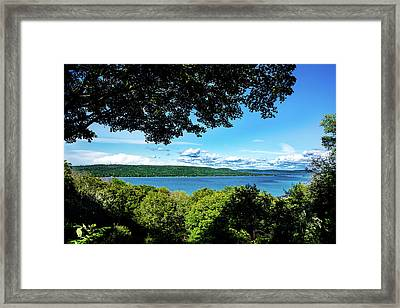 Glen Lake Framed Print