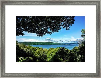 Glen Lake Framed Print