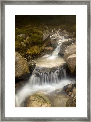 Glen River Nearer To The Source Framed Print