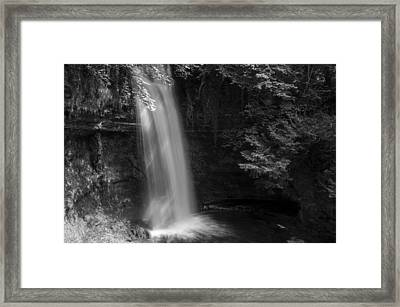 Glencar Waterfall Co Leitrim Framed Print