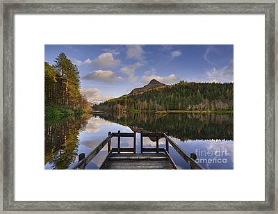 Glencoe Lochan Framed Print