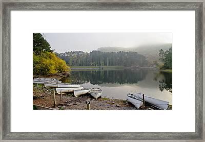 Glencorse Reflection. Framed Print