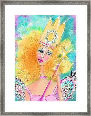 Glenda Framed Print