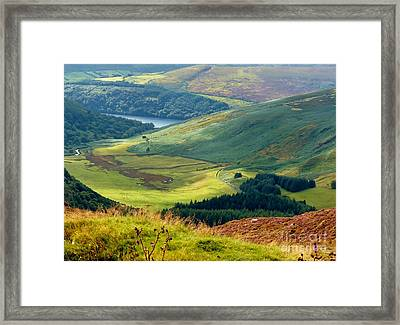 Glendalough Valley, County Wicklow Framed Print