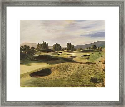 Gleneagles Kings Course Framed Print
